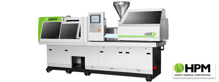 All Electric Injection Molding Machine from HPM